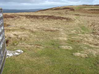 Main Rock looking to Hillfort